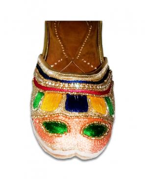 Multicolor Casual Punjabi Jutti